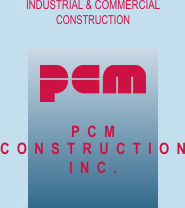 Pcm Construction Inc Logo